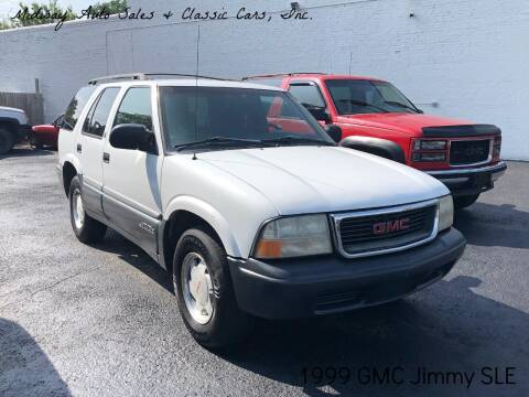 1999 GMC Jimmy for sale at MIDWAY AUTO SALES & CLASSIC CARS INC in Fort Smith AR