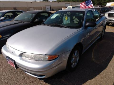 2003 Oldsmobile Alero for sale at L & J Motors in Mandan ND
