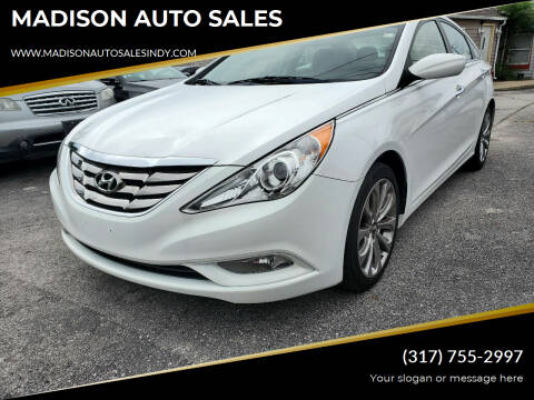 2013 Hyundai Sonata for sale at MADISON AUTO SALES in Indianapolis IN