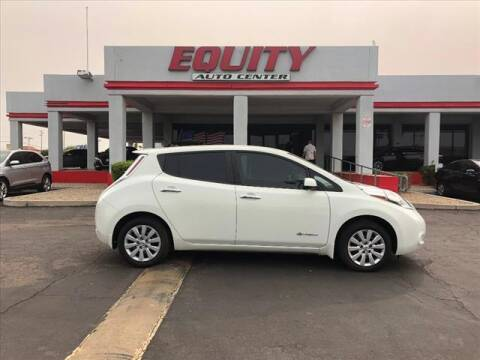 2017 Nissan LEAF for sale at EQUITY AUTO CENTER in Phoenix AZ