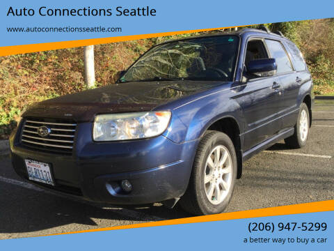 2006 Subaru Forester for sale at Auto Connections Seattle in Seattle WA