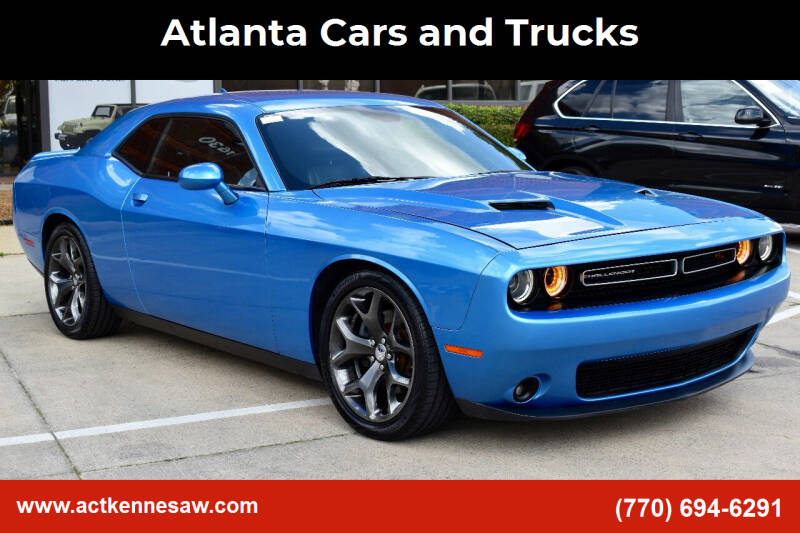 2015 Dodge Challenger for sale at Atlanta Cars and Trucks in Kennesaw GA