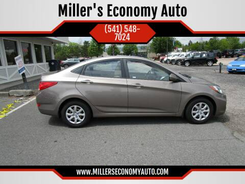 2013 Hyundai Accent for sale at Miller's Economy Auto in Redmond OR