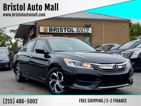 2016 Honda Accord for sale at Bristol Auto Mall in Levittown PA
