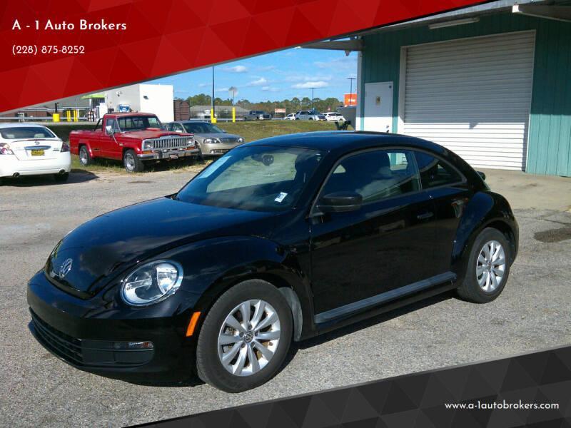 2016 Volkswagen Beetle for sale at A - 1 Auto Brokers in Ocean Springs MS