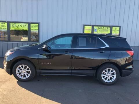 2018 Chevrolet Equinox for sale at Krantz Motor City in Watertown SD
