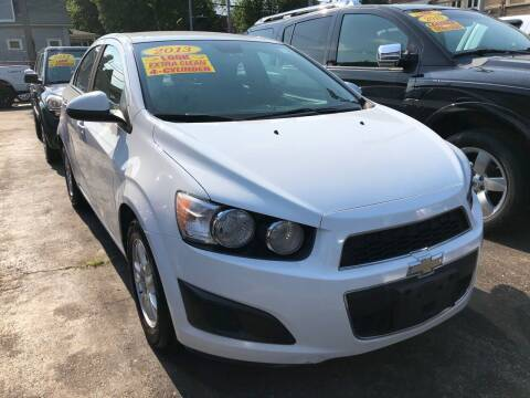 2013 Chevrolet Sonic for sale at Jeff Auto Sales INC in Chicago IL