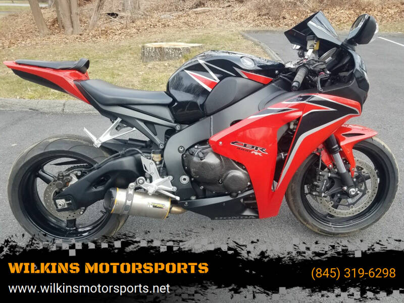 2010 Honda CBR 1000RR for sale at WILKINS MOTORSPORTS in Brewster NY
