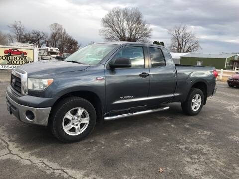 2007 Toyota Tundra for sale at Cordova Motors in Lawrence KS