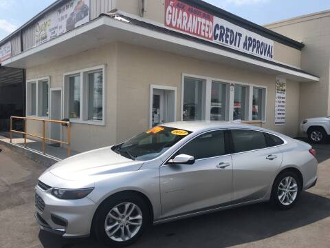 2017 Chevrolet Malibu for sale at Suarez Auto Sales in Port Huron MI