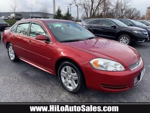 2013 Chevrolet Impala for sale at Hi-Lo Auto Sales in Frederick MD