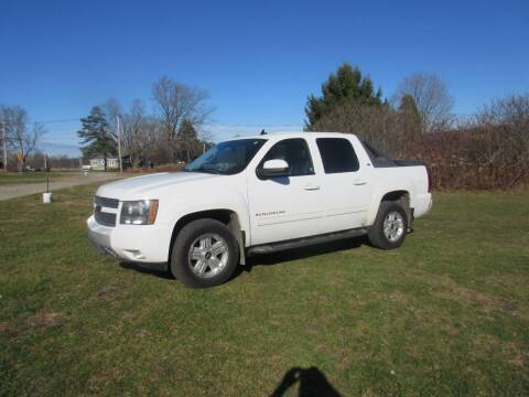 2010 Chevrolet Avalanche for sale at Clearwater Motor Car in Jamestown NY