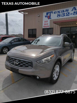 2010 Infiniti FX35 for sale at TEXAS AUTOMOBILE in Houston TX