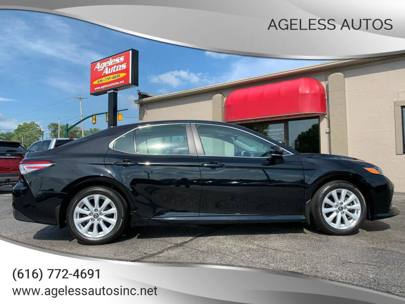 2018 Toyota Camry for sale at Ageless Autos in Zeeland MI