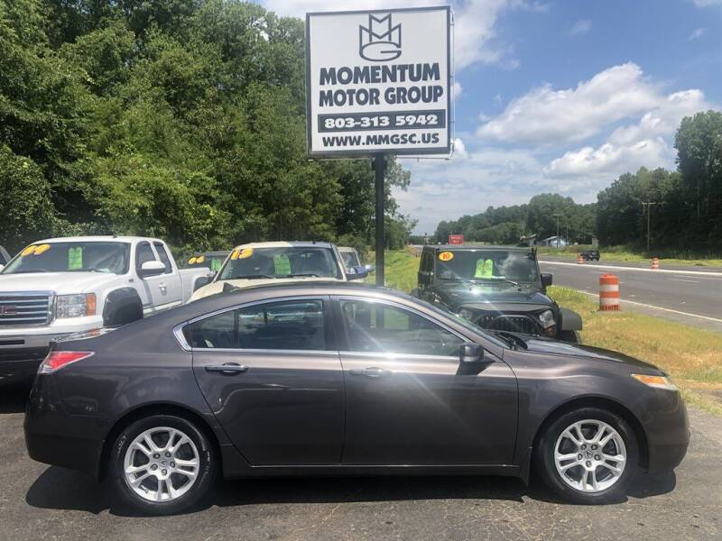 2010 Acura TL for sale at Momentum Motor Group in Lancaster SC