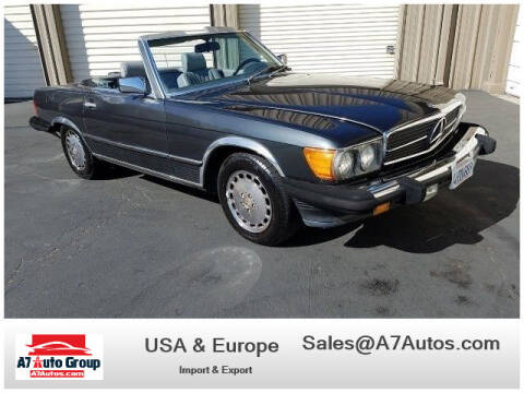 1986 Mercedes-Benz 560-Class for sale at A7 AUTO SALES in Holly Hill FL