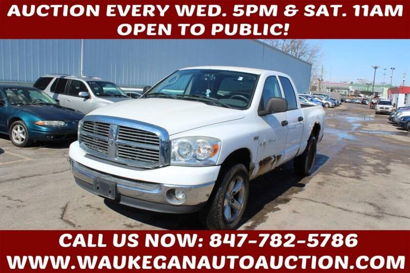 2007 Dodge Ram Pickup 1500 for sale at Waukegan Auto Auction in Waukegan IL