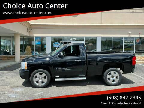 2011 Chevrolet Silverado 1500 for sale at Choice Auto Center in Shrewsbury MA