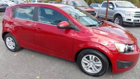 2014 Chevrolet Sonic for sale at Bachettis Auto Sales in Sheffield MA