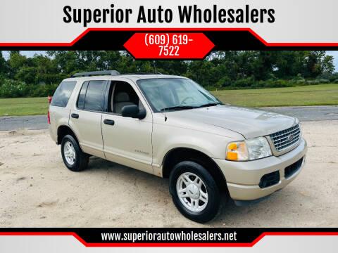 2005 Ford Explorer for sale at Superior Auto Wholesalers in Burlington NJ