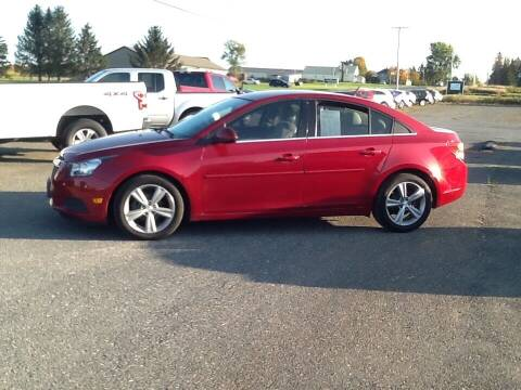 2013 Chevrolet Cruze for sale at Garys Sales & SVC in Caribou ME