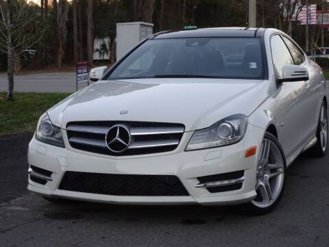 2012 Mercedes-Benz C-Class for sale at Deal Maker of Gainesville in Gainesville FL