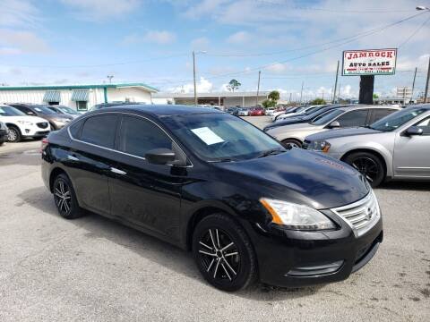2015 Nissan Sentra for sale at Jamrock Auto Sales of Panama City in Panama City FL