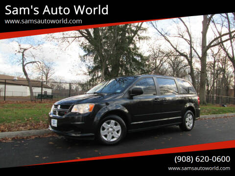2012 Dodge Grand Caravan for sale at Sam's Auto World in Roselle NJ