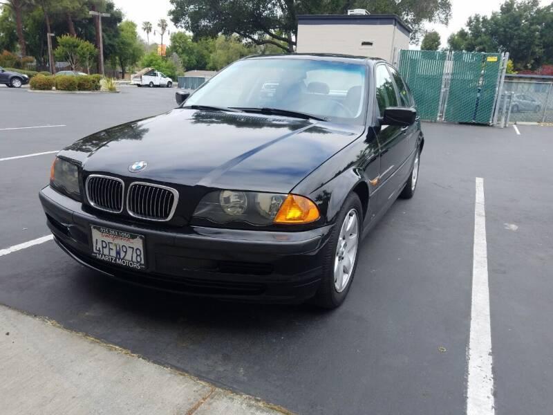 2001 BMW 3 Series for sale at MARTZ MOTORS in Pleasant Hill CA