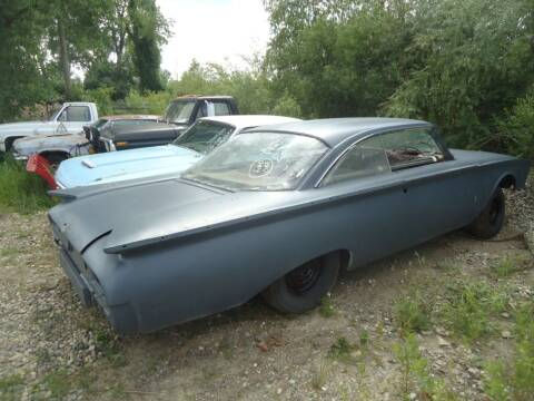 1960 Ford starliner for sale at Marshall Motors Classics in Jackson Michigan MI