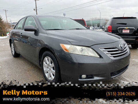 2007 Toyota Camry for sale at Kelly Motors in Johnston IA