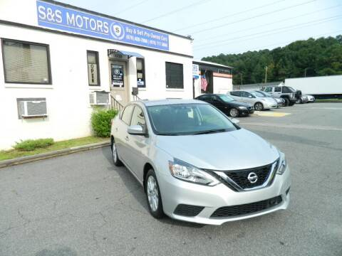 2019 Nissan Sentra for sale at S & S Motors in Marietta GA