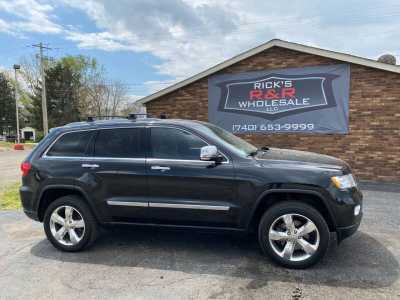 2012 Jeep Grand Cherokee for sale at Rick's R & R Wholesale, LLC in Lancaster OH