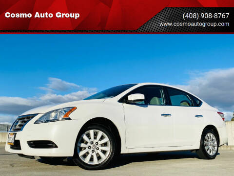 2014 Nissan Sentra for sale at Cosmo Auto Group in San Jose CA