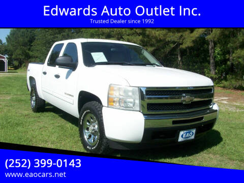 2011 Chevrolet Silverado 1500 for sale at Edwards Auto Outlet Inc. in Wilson NC