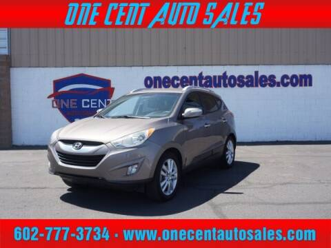 2012 Hyundai Tucson for sale at One Cent Auto Sales in Glendale AZ
