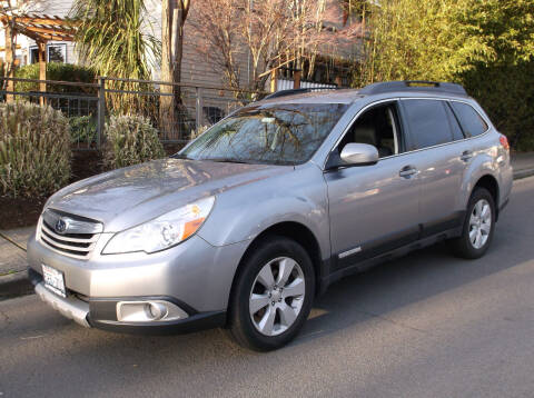 2010 Subaru Outback for sale at Eastside Motor Company in Kirkland WA