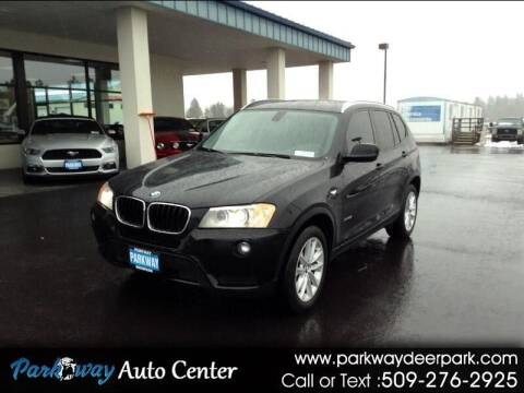 2013 BMW X3 for sale at PARKWAY AUTO CENTER AND RV in Deer Park WA