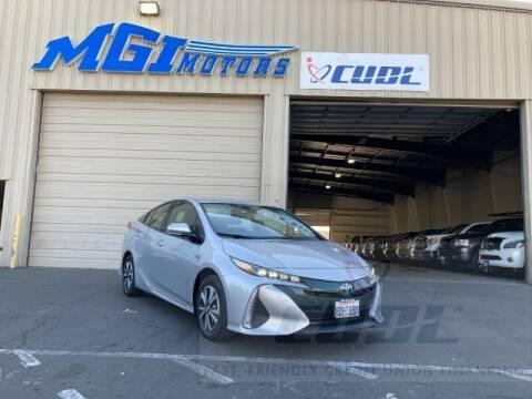 2017 Toyota Prius Prime for sale at MGI Motors in Sacramento CA