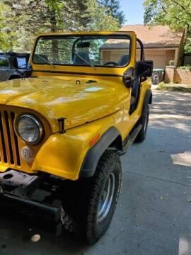 1977 Jeep CJ-7 for sale at Classic Car Deals in Cadillac MI