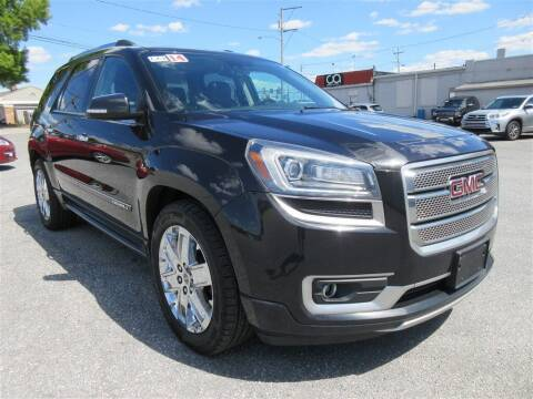 2014 GMC Acadia for sale at Cam Automotive LLC in Lancaster PA