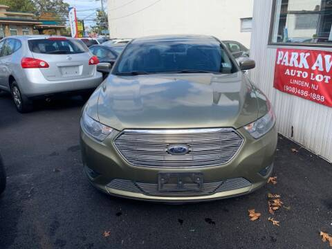 2013 Ford Taurus for sale at Park Avenue Auto Lot Inc in Linden NJ