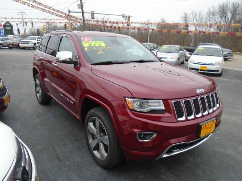 2015 Jeep Grand Cherokee for sale at River City Auto Sales in Cottage Hills IL
