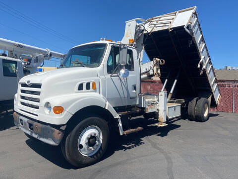 1999 Sterling Flatbed Dump/Crane for sale at Dorn Brothers Truck and Auto Sales in Salem OR
