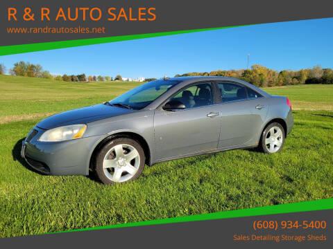 2009 Pontiac G6 for sale at R & R AUTO SALES in Juda WI