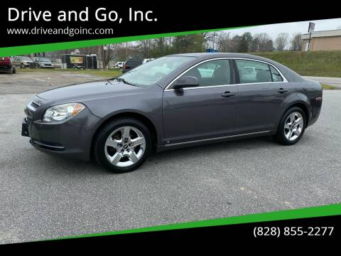 2010 Chevrolet Malibu for sale at Drive and Go, Inc. in Hickory NC