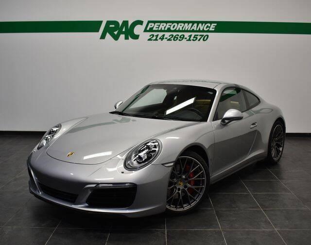 2017 Porsche 911 for sale at RAC Performance in Carrollton TX