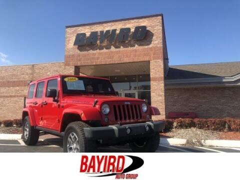 2014 Jeep Wrangler Unlimited for sale at Bayird Truck Center in Paragould AR