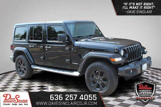 2018 Jeep Wrangler Unlimited for sale in Pacific, MO