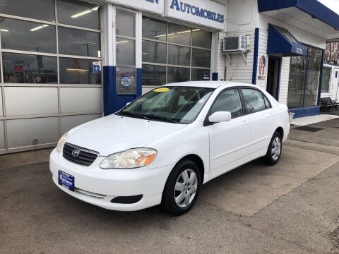 2007 Toyota Corolla for sale at Jack E. Stewart's Northwest Auto Sales, Inc. in Chicago IL